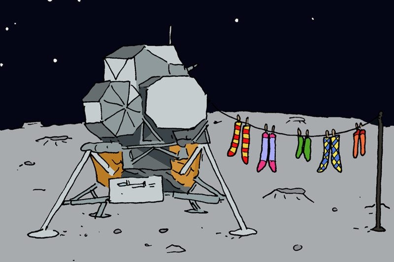 lunar module cartoon