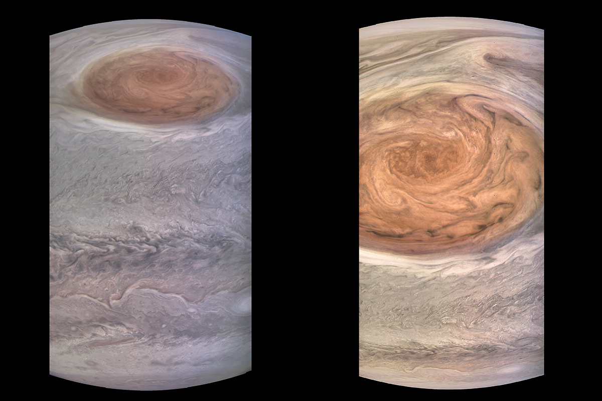The closest images ever of the biggest storm in the solar system