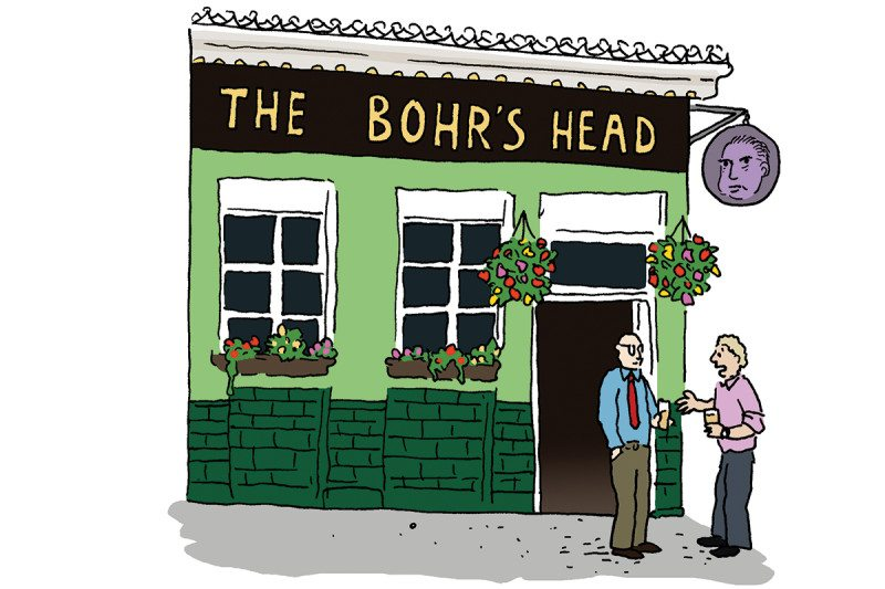 pub cartoon