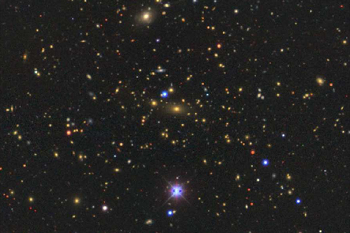 Galaxy supercluster is one of the biggest things in the universe