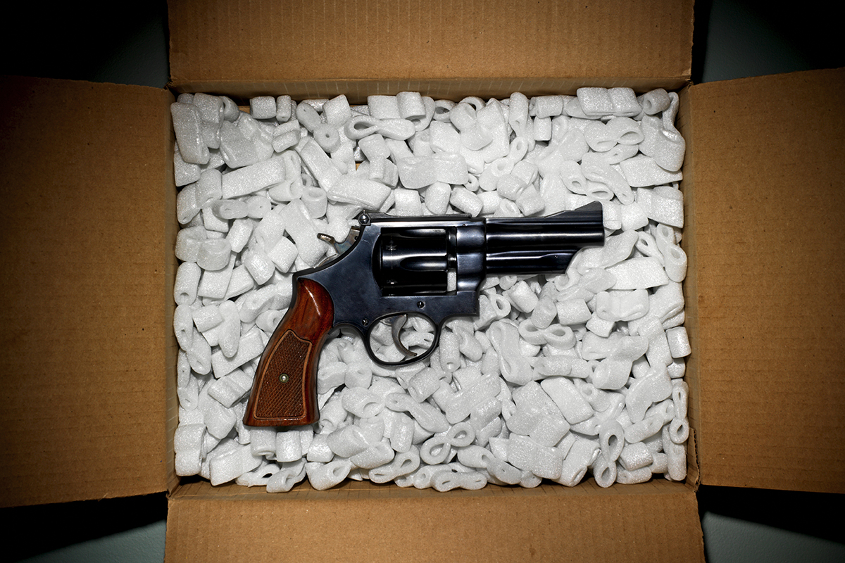 How the dark web's gunrunners covertly ship US weapons to Europe