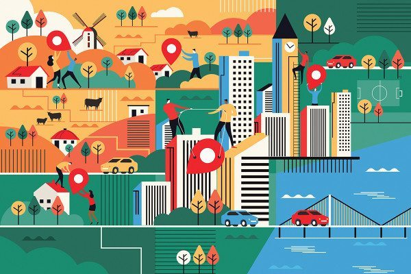 city artwork