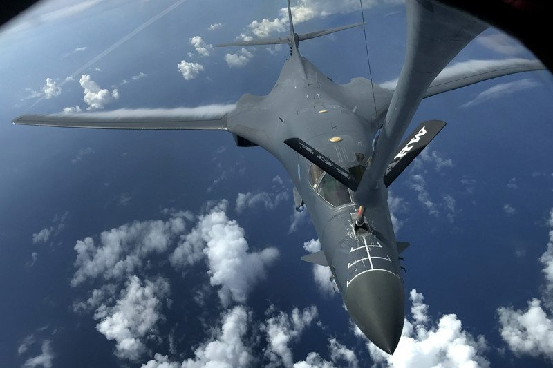 US Air Force B-1B bomber