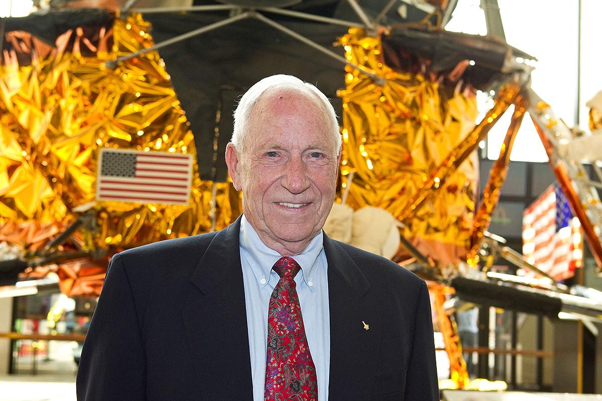 Apollo 15 astronaut Al Worden