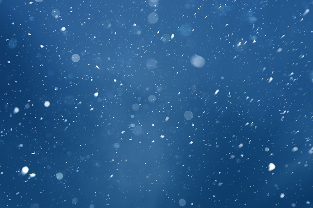 how to make a snowy background in photoshop