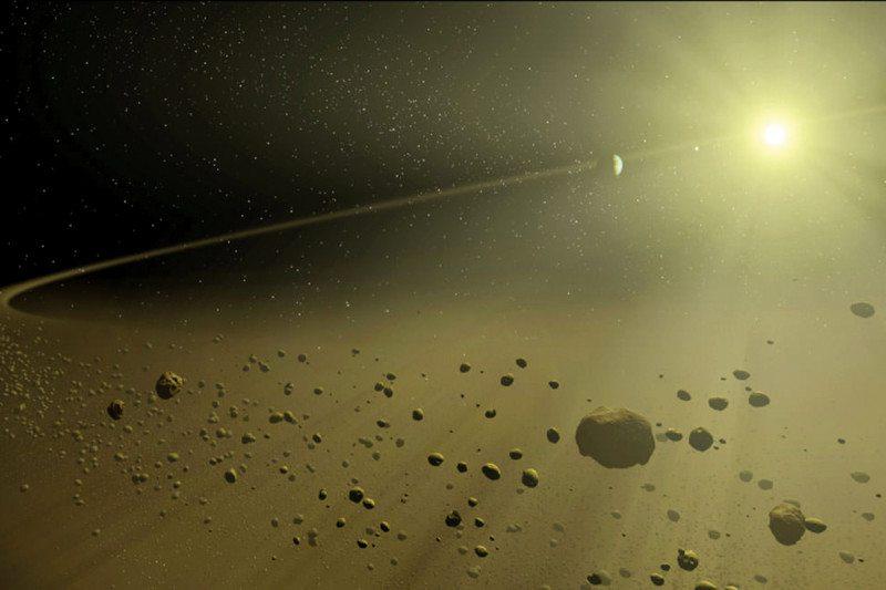 Kepler planetary disk
