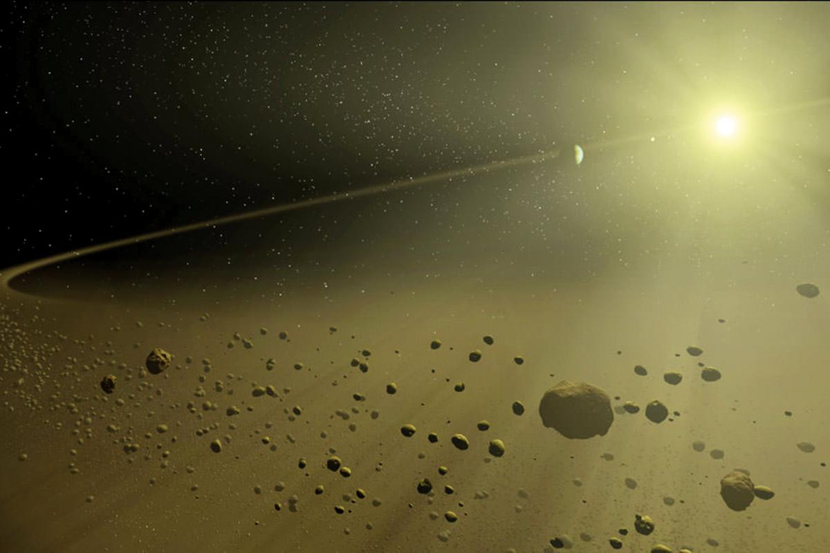 'Alien megastructure' star may host Saturn-like exoplanet