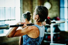 Exercise helps ease symptoms