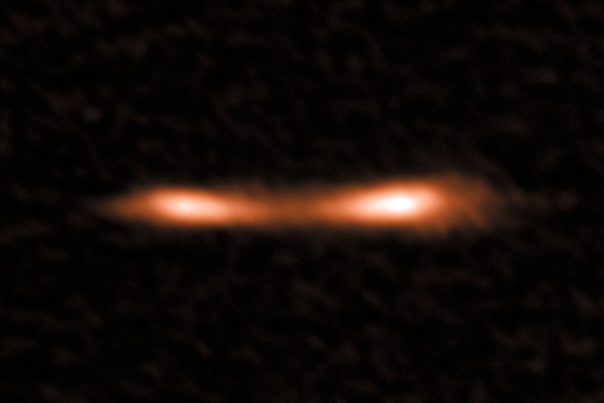 The Cosmic Eyelash, a remote starburst galaxy, hosts a hidden reservoir of star fuel