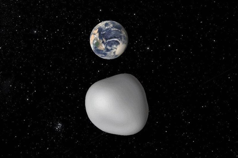 An asteroid named after Florence Nightingale whizzed past Earth on 1 September