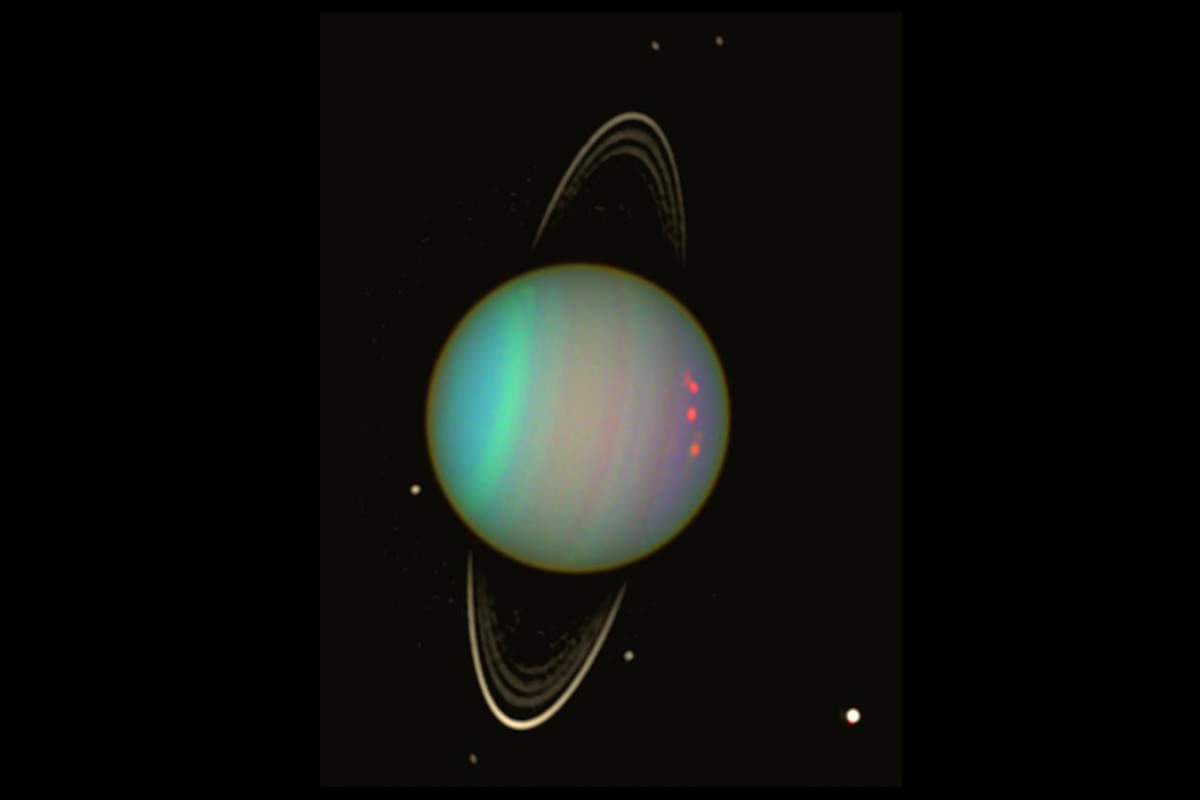 Some of Uranus's small moons are doomed to collide | New ...