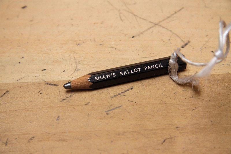 ballot pencil