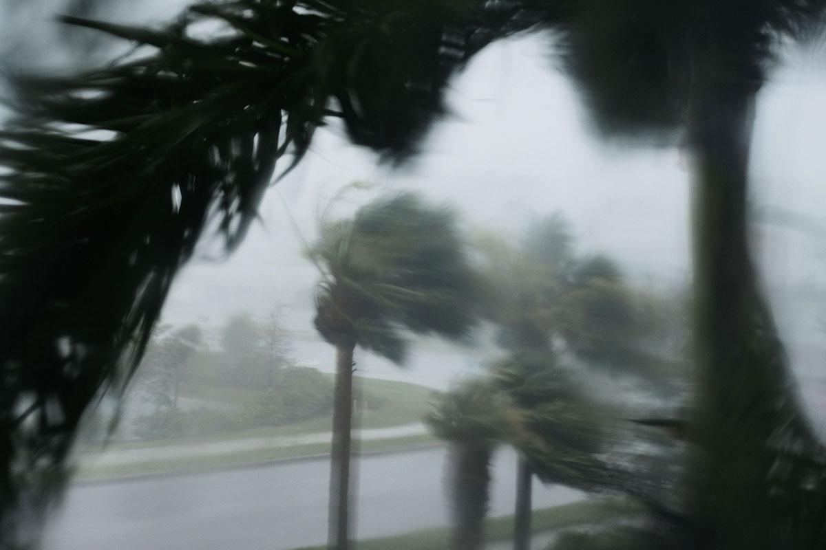 Intense winds blast Florida as Hurricane Irma makes landfall