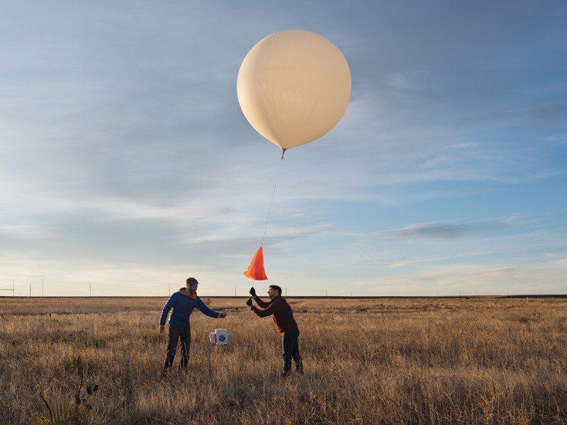 balloon launching