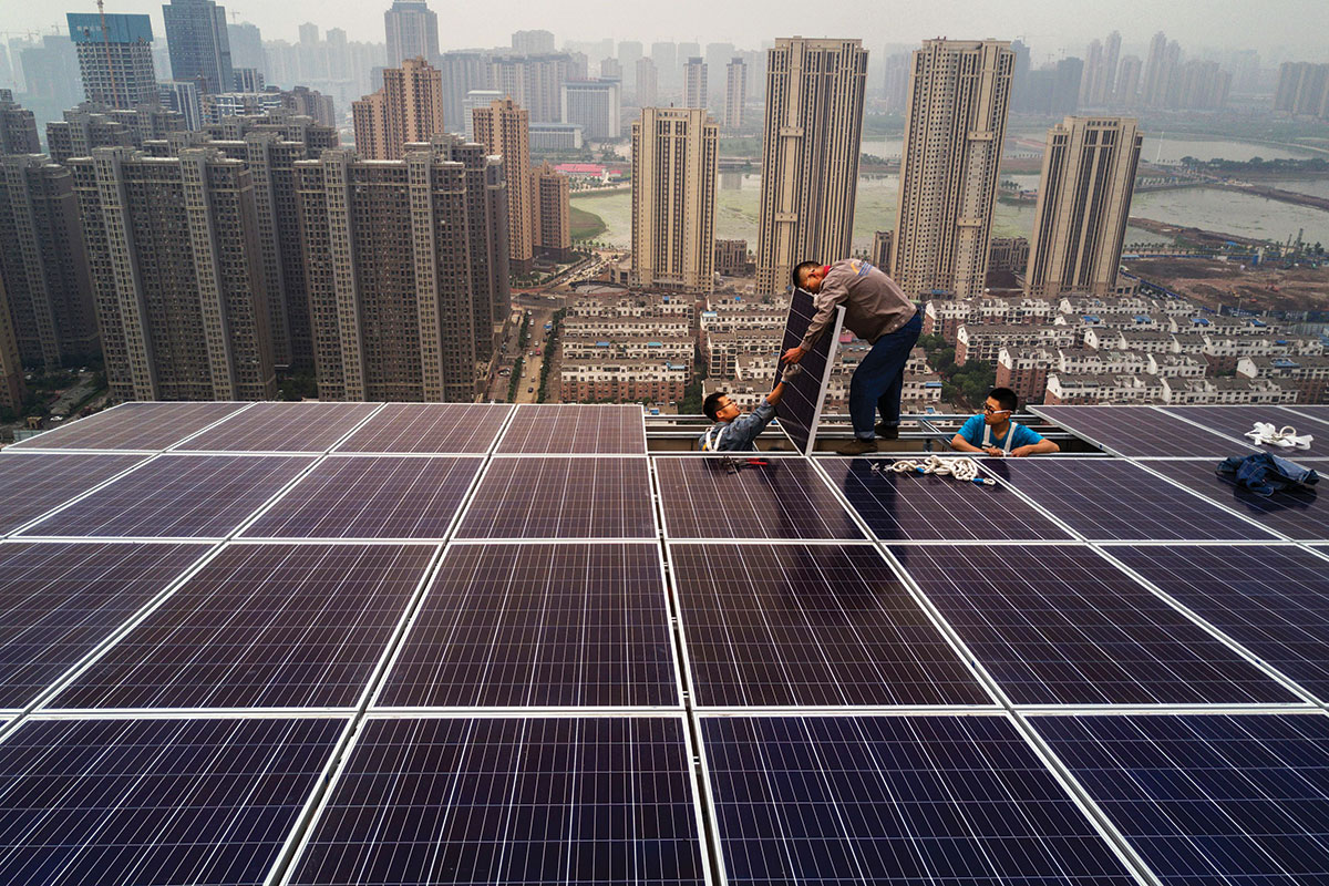 Why China's green ambitions will make it the next world leader