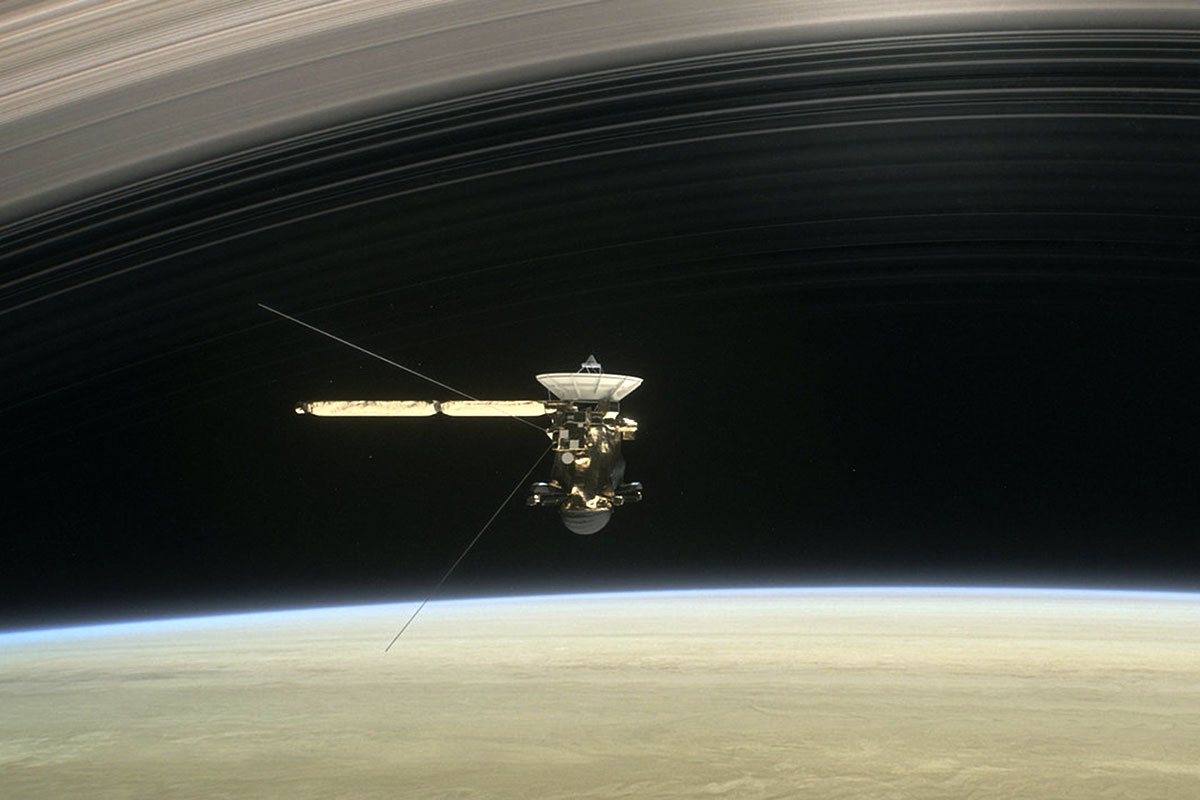 Tears for Cassini: why it's OK to well up over a lump of metal