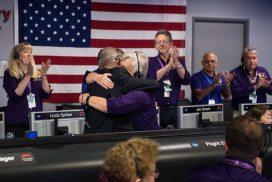 The Cassini team says goodbye