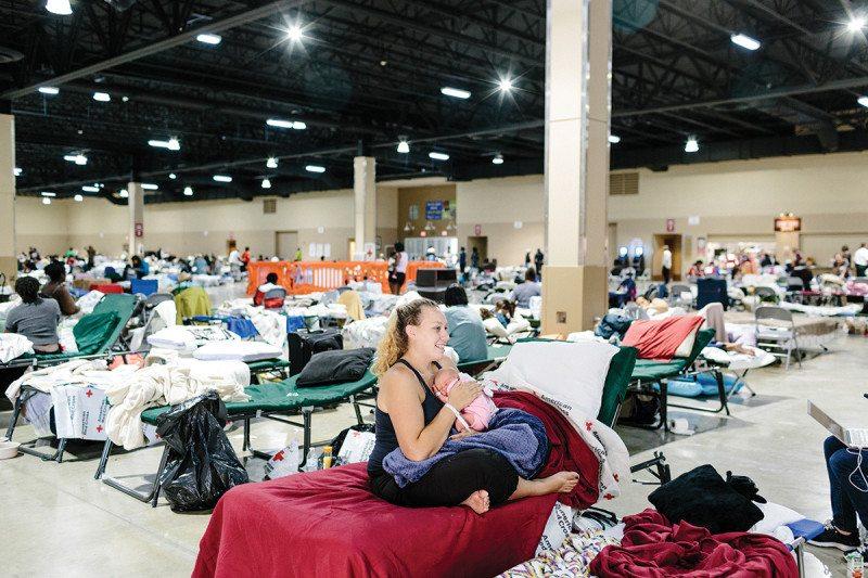 evacuation centre