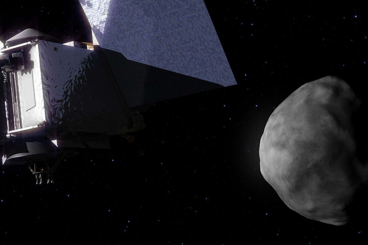 Arizona-Led Asteroid Mission Swings Around Earth