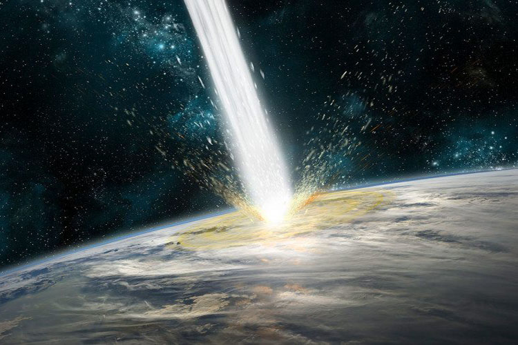 Huge space rocks could have helped start Earth's plate tectonics