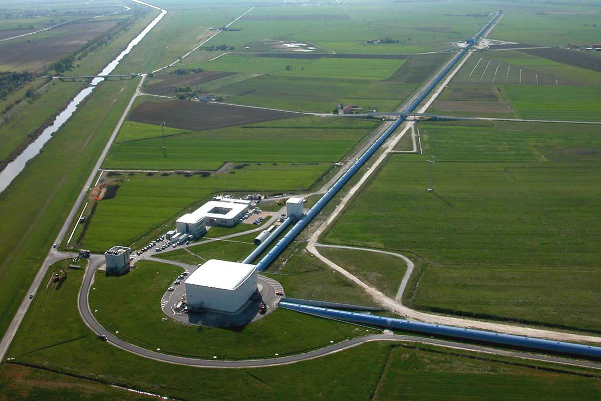 Two weeks after it officially began observations, the Virgo detector saw its first gravitational wave