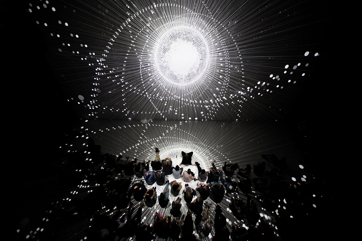 Disenchantment Space by Atsushi Tadokoro at the Ars Electronica festival