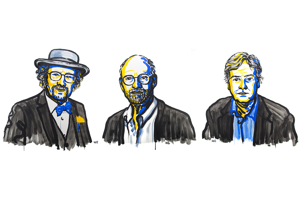 Portrait of Nobel laureates