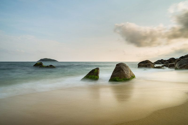 A beach on Hainan