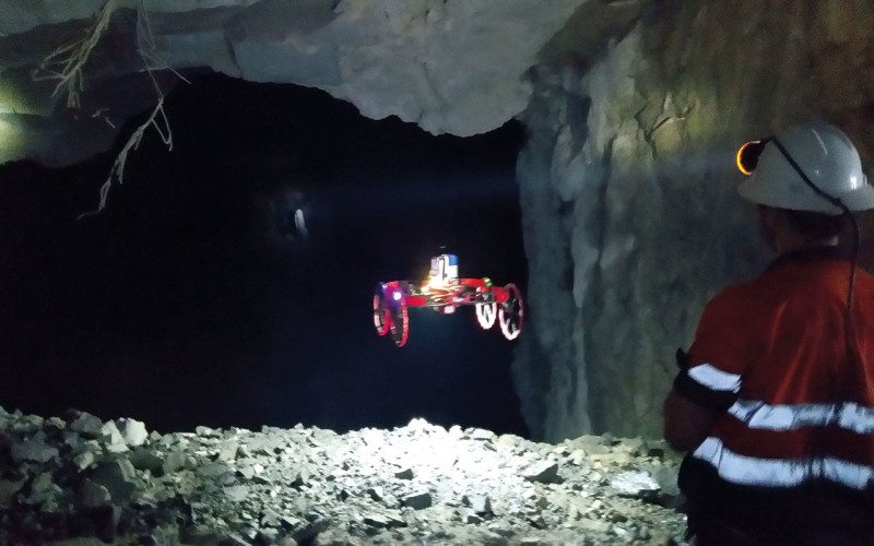 cave drone