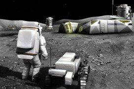 A moon base