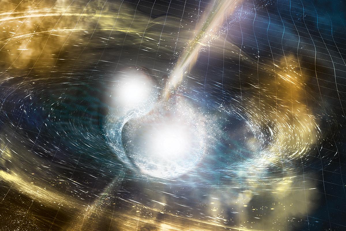 Light from LIGO's neutron star smashup just got even brighter