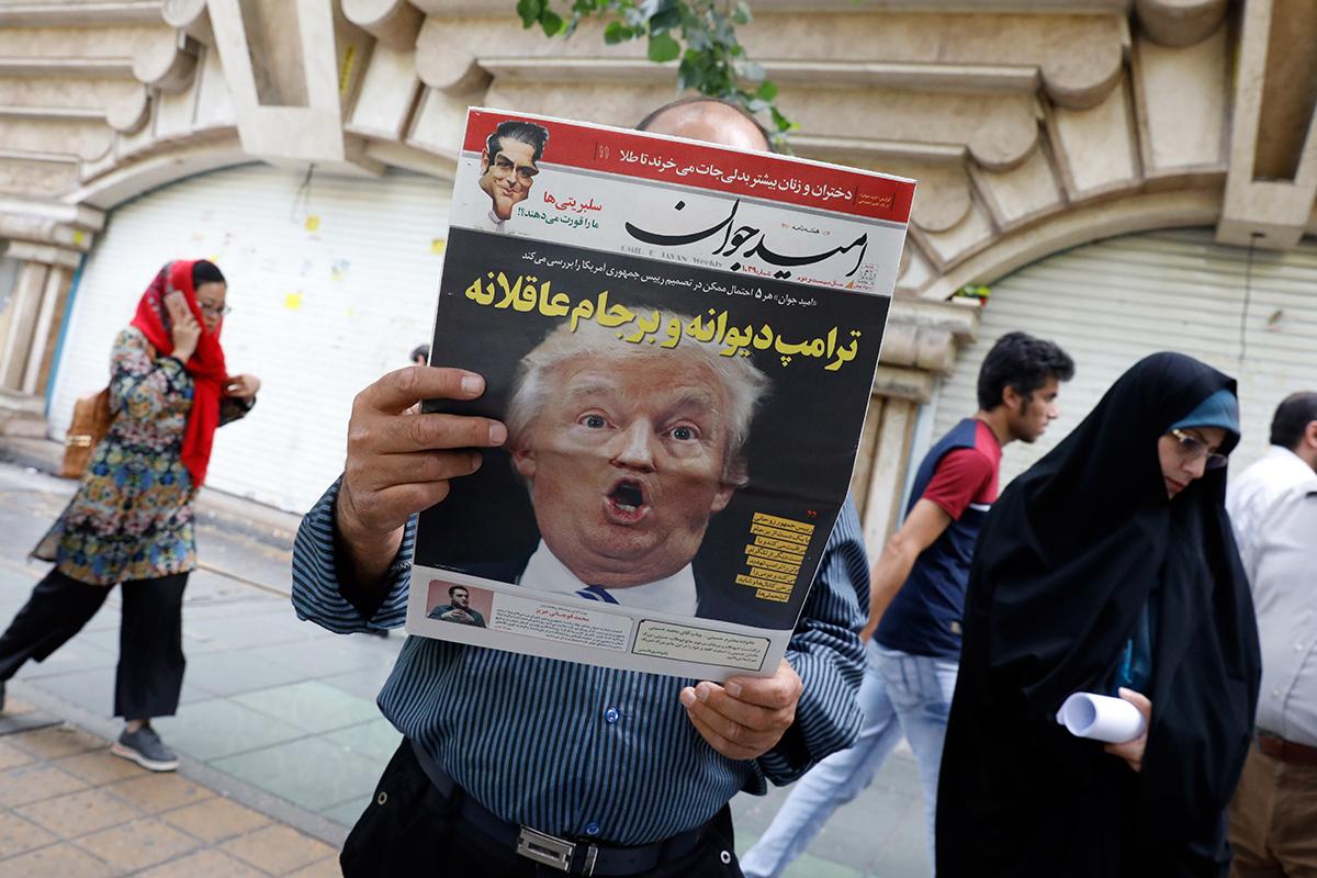 Trump's U-turn may see Iran join North Korea as a nuclear state