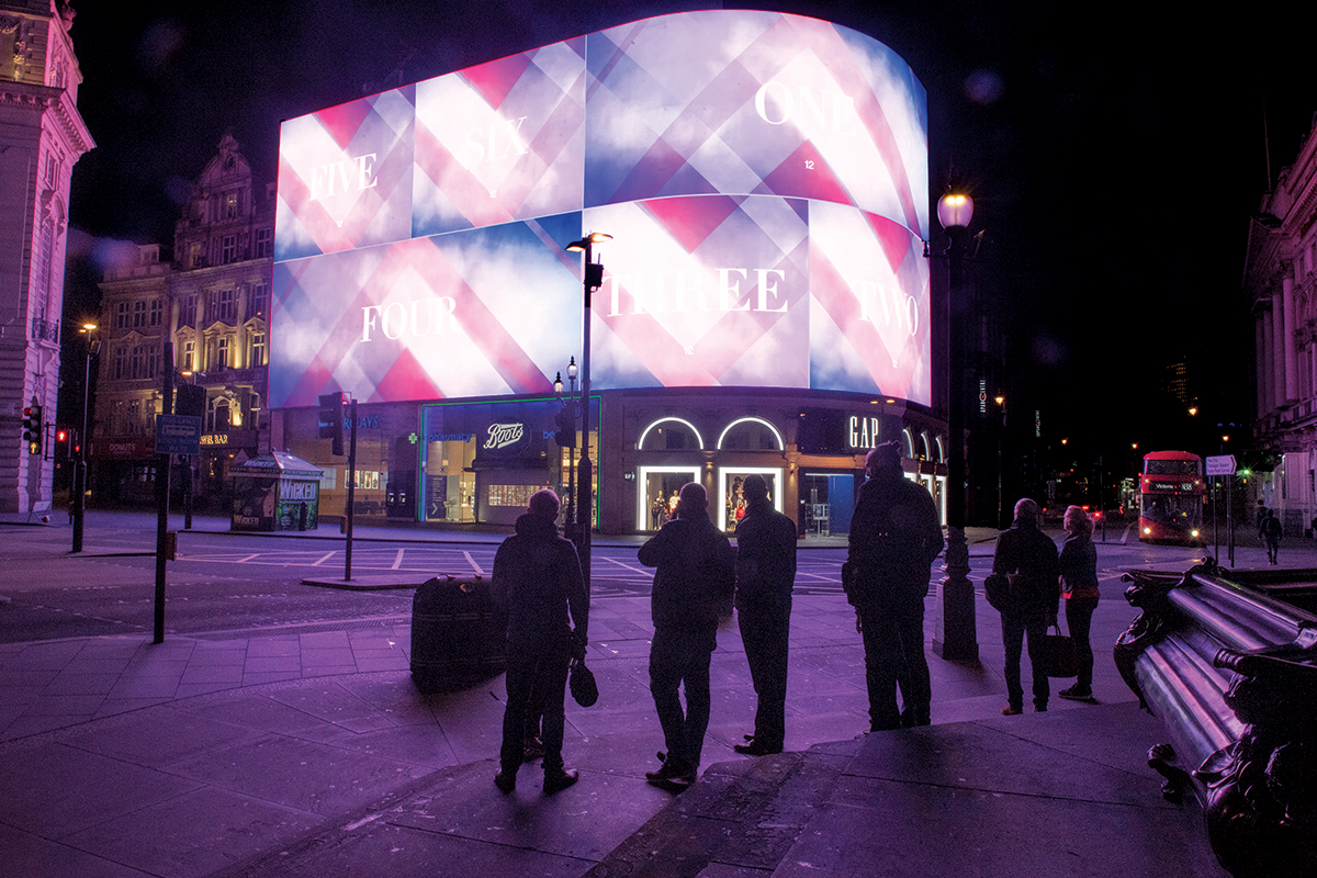 Huge Piccadilly Circus screen will target ads at certain cars