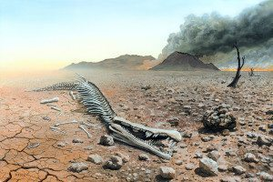 C0303632-Triassic-Jurassic_extinction,_illustration-SPL