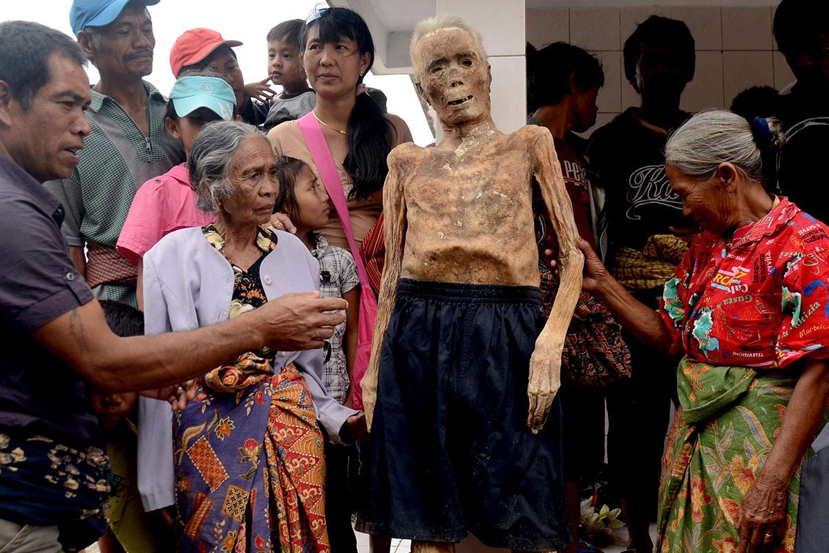 Indonesia mummy