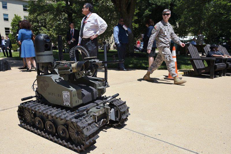 robot tank