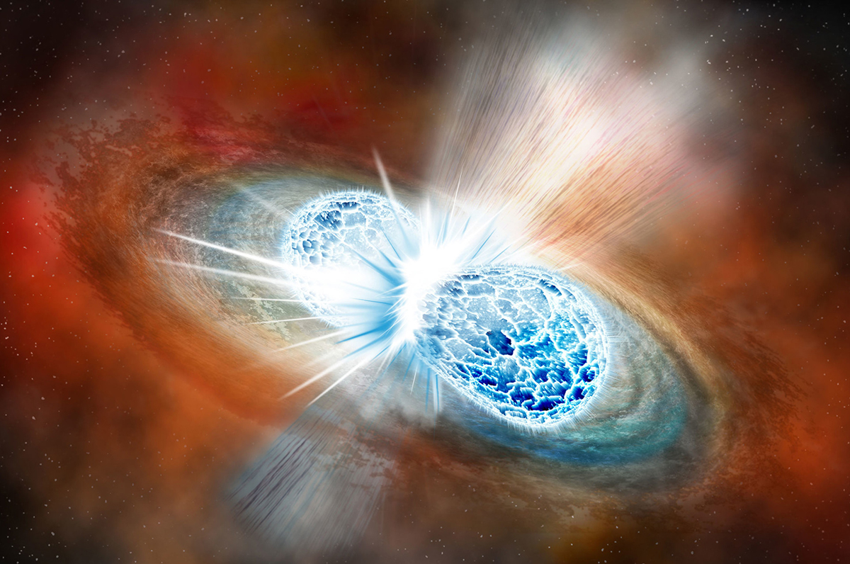 Giant star smash-up may have made the biggest neutron star ever