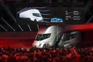 Tesla's new trucks