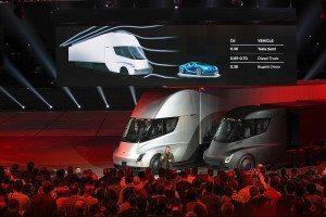 Tesla's new trucks