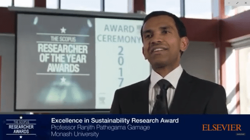 Video: Ranjith Pathegama Gamage — Scopus Awards winner