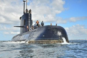 The Argentinian submarine ARA San Juan