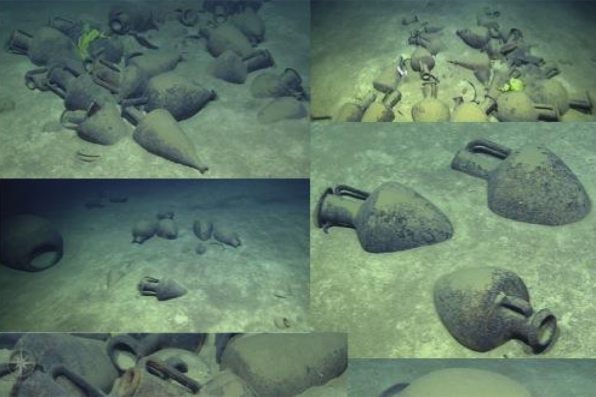 A shipwreck has been found from the time of Alexander the Great