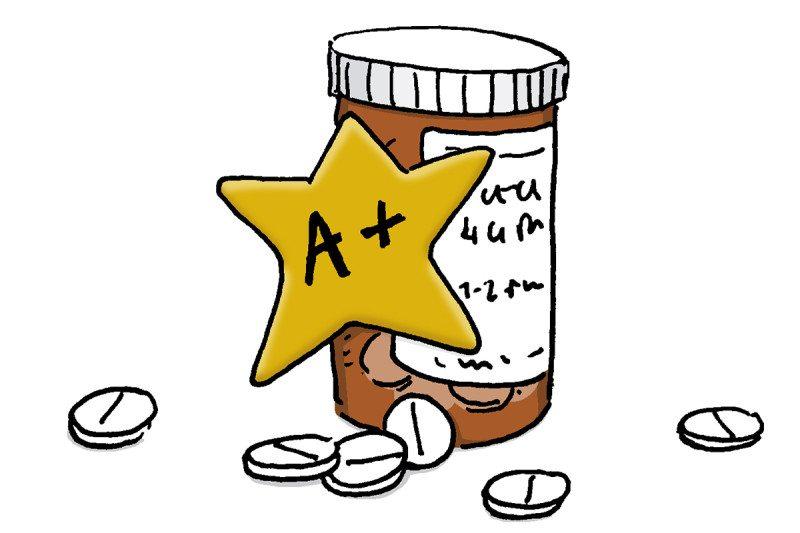 drug cartoon