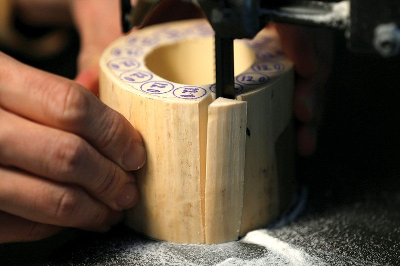 Cutting Ivory