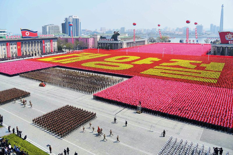 North Korea parade