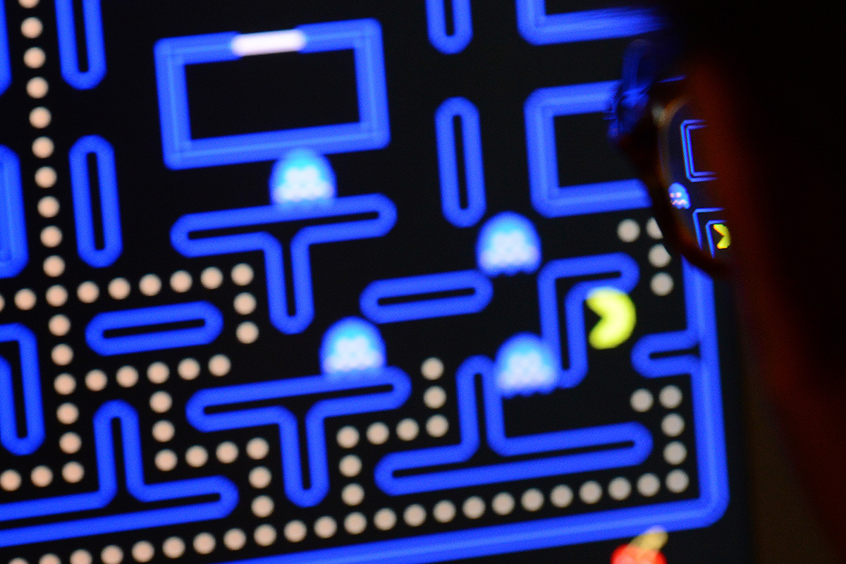 Playing Pac-Man