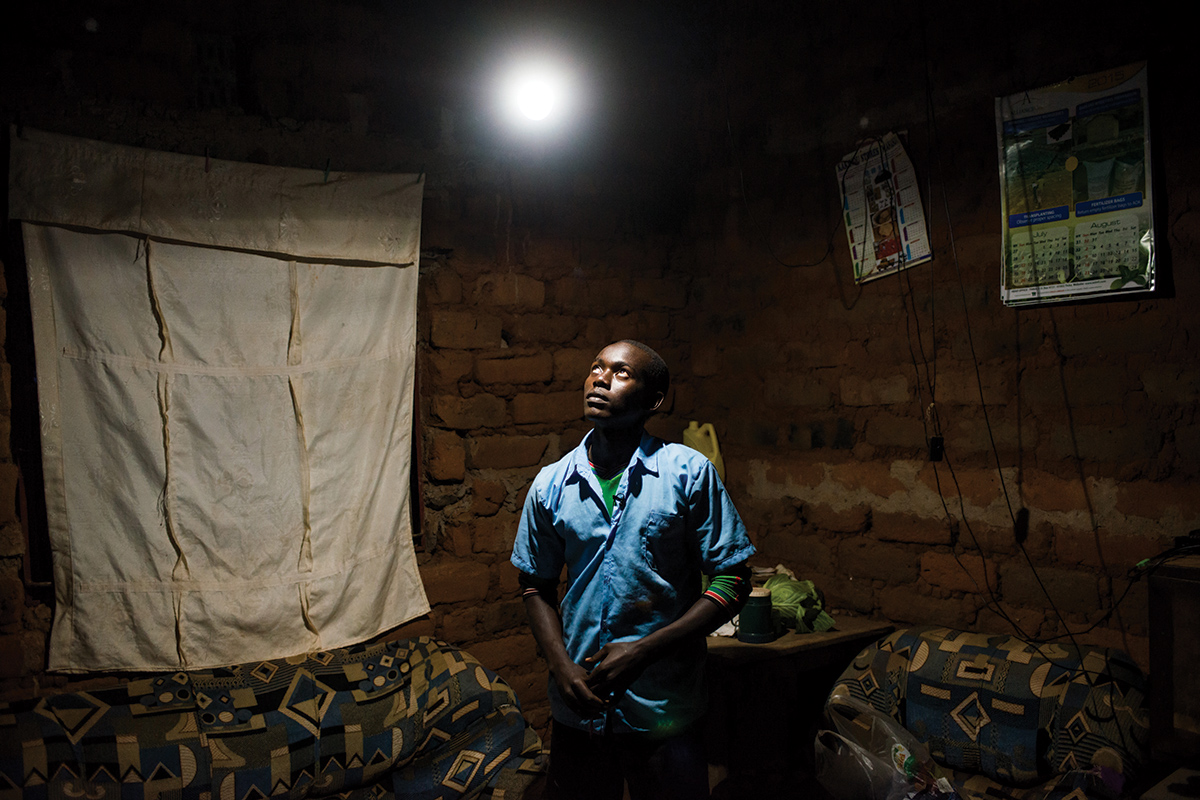 People without electricity could end up living the energy dream
