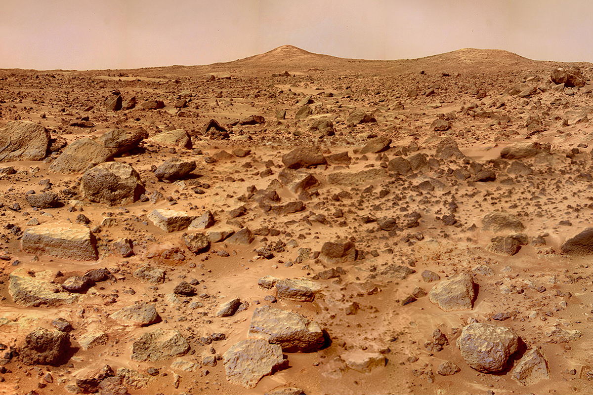 Mars rocks may have drunk up all the water and doomed life there