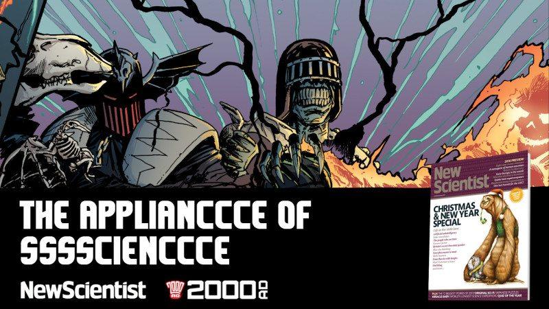 2000AD Dark Judges artwork