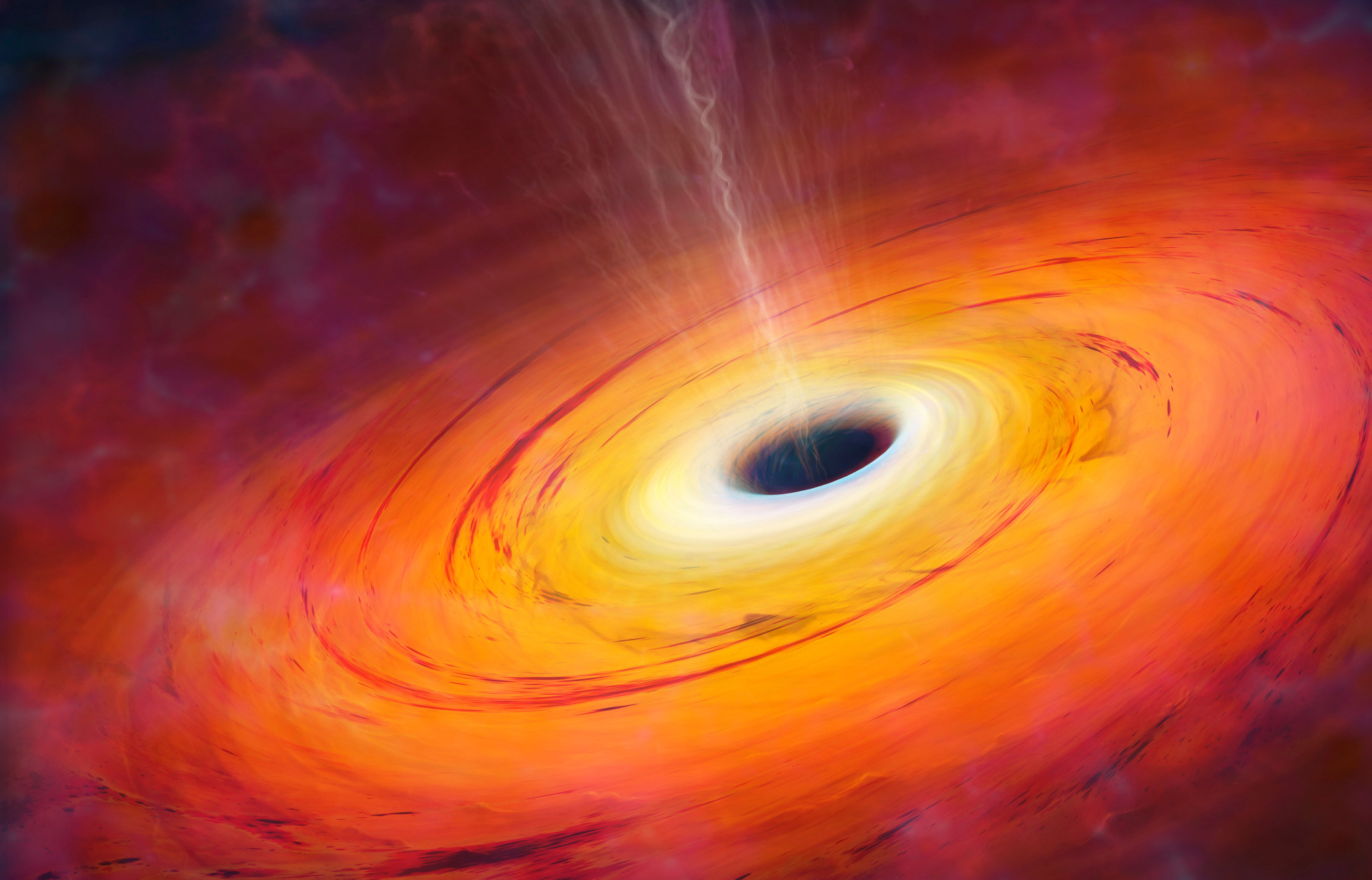 black hole picture - HD 2048×1314